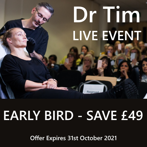 Dr Tim Live Early Bird Offer
